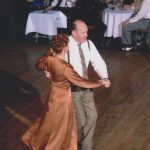 Esther and partner enjoy dancing quickstep