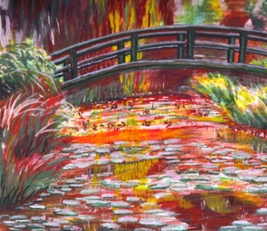Art by Esther Monet Bridge at Giverney-web