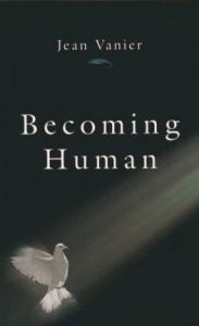Becoming Human Book Cover by Jean Vanier