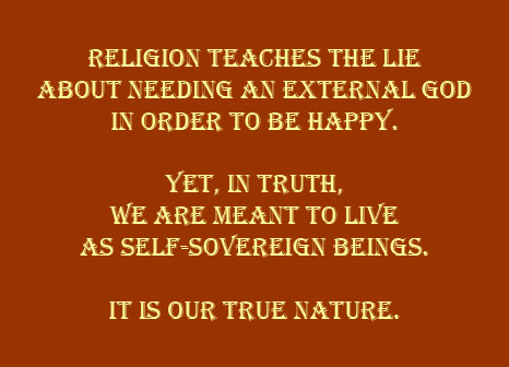 Believing the lie we are disillusioned by religion