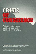Crisis of Conscience book cover by Raymond Franz