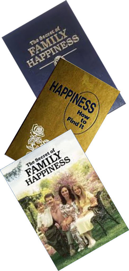 Jehovah's Witnesses selling happiness literature. Is happiness a commodity?