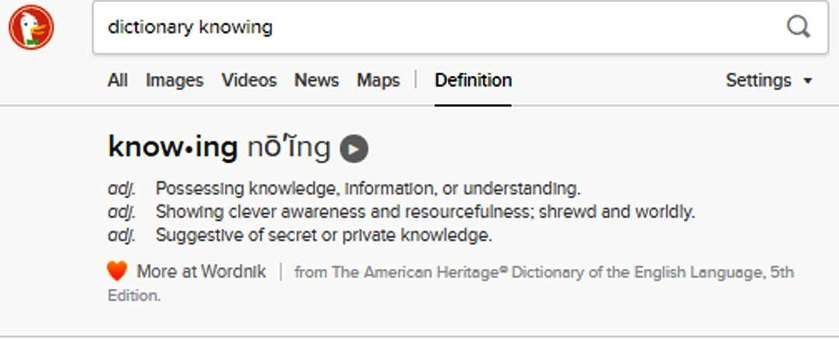 Knowing means possessing knowledge, information or understanding. We wouldn't simply believe because others did. We'd  know.