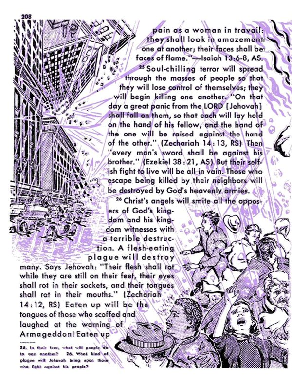 Armageddon horror story in From Paradise Lost to Paradise Regained v 1958 p 209