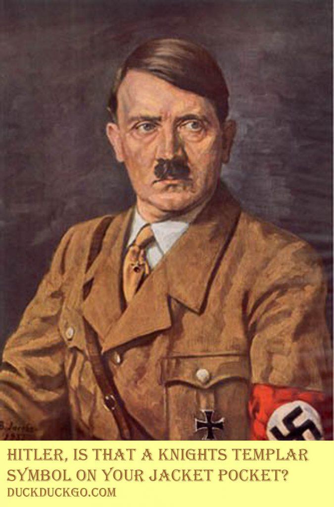 Secret Society Member Hitler
