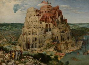Tower of Babel by Pieter Bruegel the Elder, Vienna, Google Art Project Wiki Commons