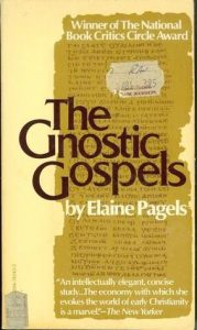 gnostic gospels by Elaine Pagels Book Cover