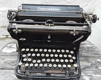 old manual typewriter contributes to vital well-being?