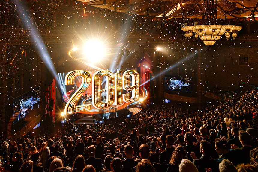 Scientology's ecstatic 2019 NYE party