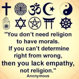 Remember this if you feel disillusioned by religion